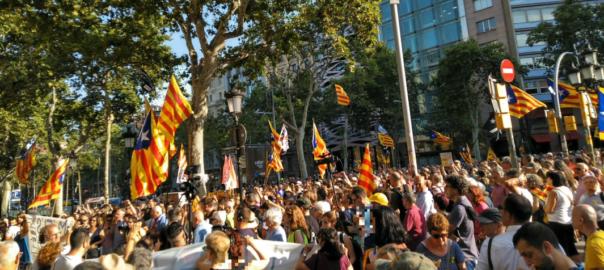 manifestacio barcelona junqueras puigdemont común