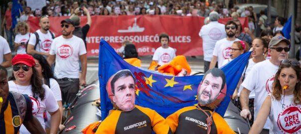 manifestacio suport open arms