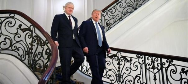 trump johnson brexit