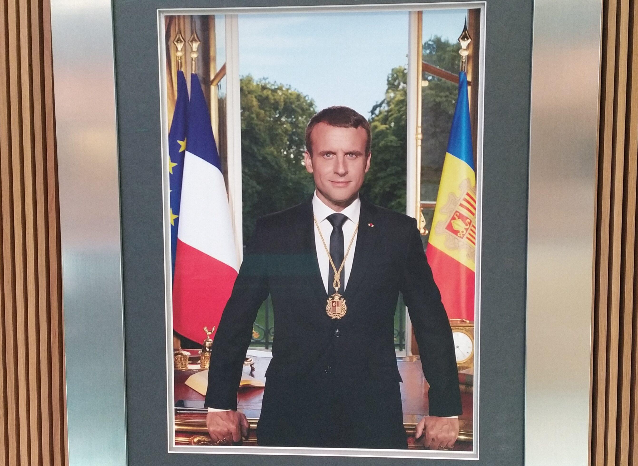 Macron Visita Andorra Per A Afermar El Coprincipat I Impulsar La Negociacio Amb La Ue