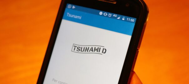 QR app Tsunami