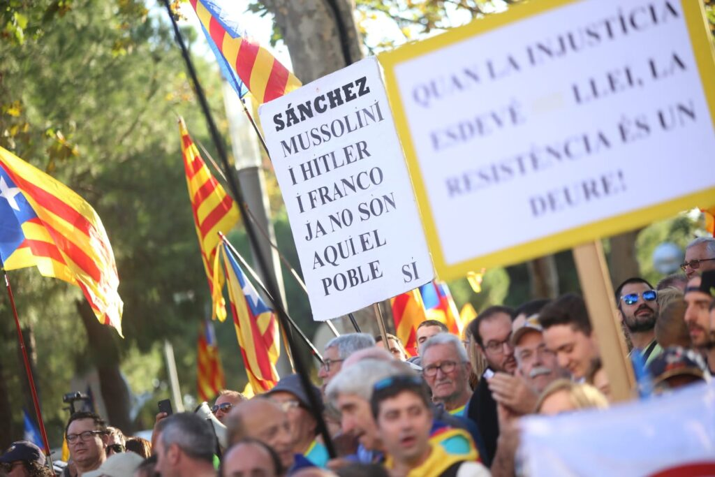 manifestation barcelone