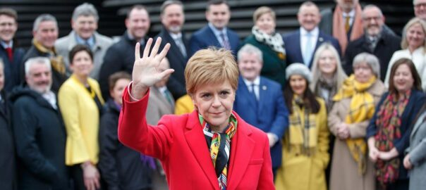 Sturgeon Escòcia Independència