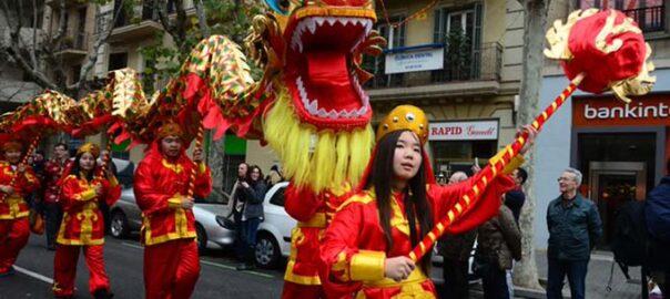 Desfilada any nou xinés
