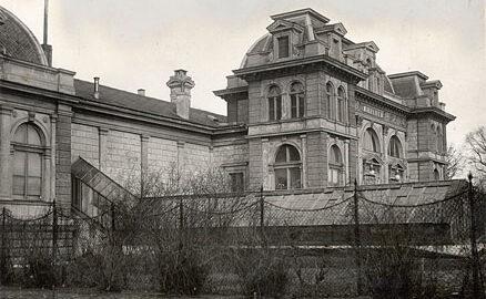 destrucció viena nazi antic edifici institut biologia experimental viena