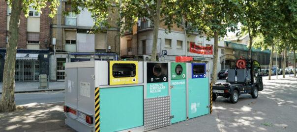 línia única reciclatge