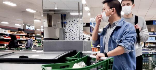 Coronavirus comprar supermercat