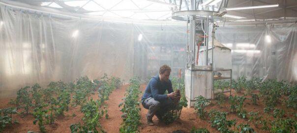 The Martian exploradors espacials agricultors