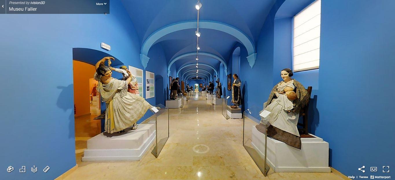 El Museu Faller de València en 360º