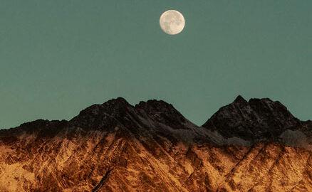 paisatge amb la lluna
