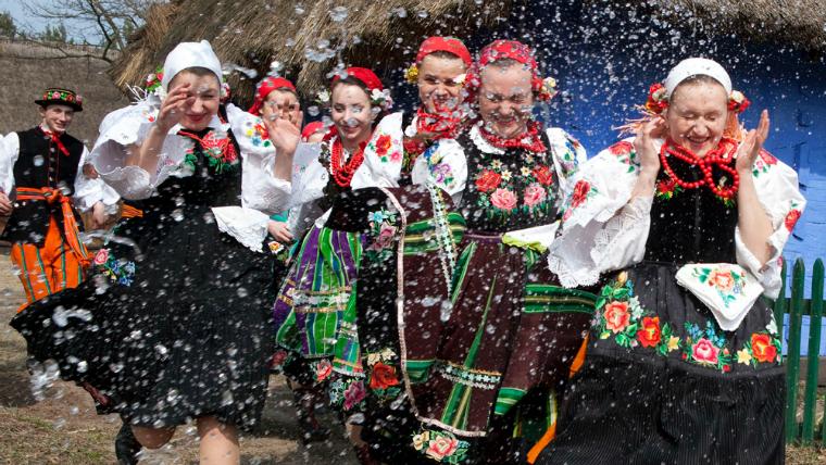 Smingus-Dyngus a Polònia per Pasqua