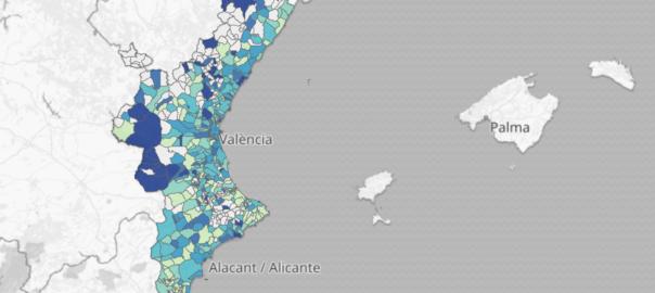 mapa coronavirus pais valencia