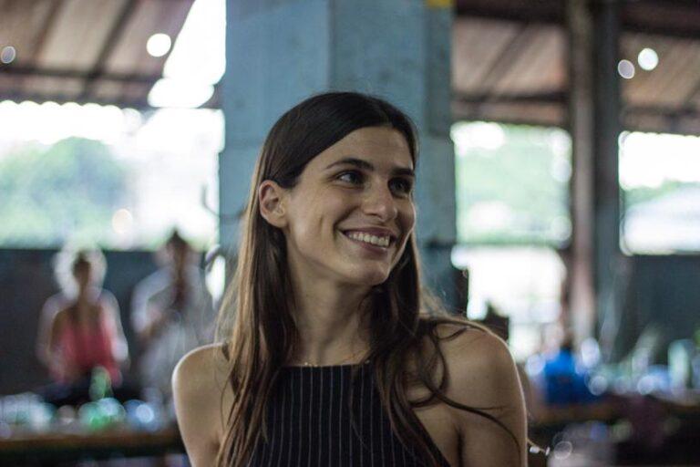 Lena Solà Nogués, curadora dart a Cuba Foto: Estudio Wilfredo Prieto, La Habana