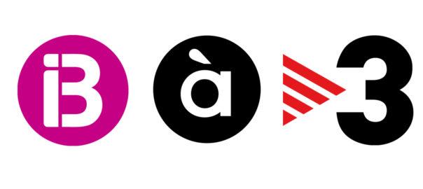 Logos tv3 a punt i ib3