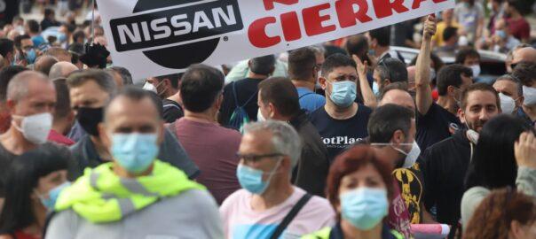 Protesta Nissan