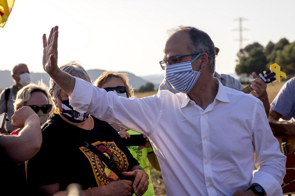 Josep Rull i Jordi Turull tornen a Lledoners