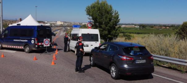 confinament Lleida Segrià