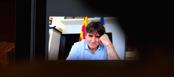 Carles Puigdemont, (foto: Adiva Koenigsberg)