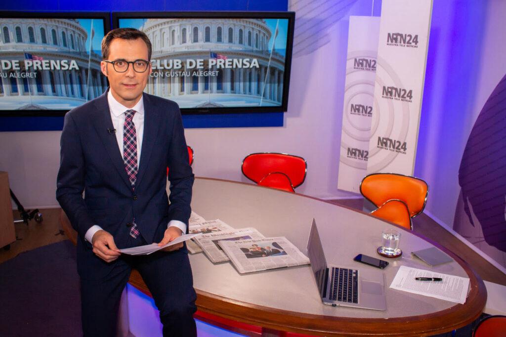 Gustau Alegret, periodista (Foto: GA)