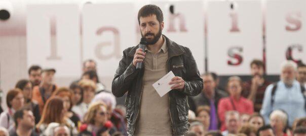 Juanma del Olmo, secretari de comunicació de Podem.