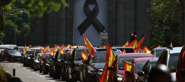 Caravana de Vox a Madrid
