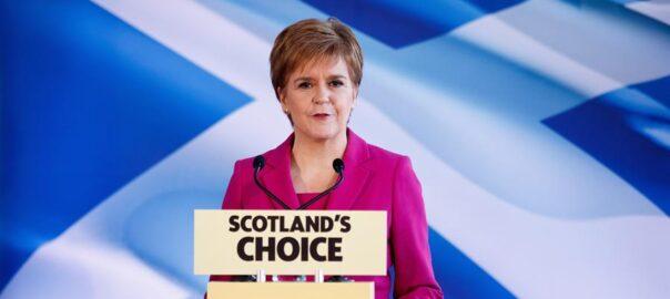 Nicola Sturgeon referèndum escocès