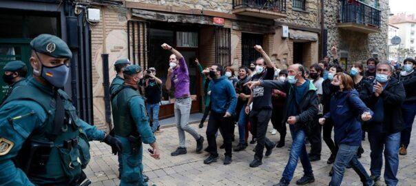 País Basc protesta