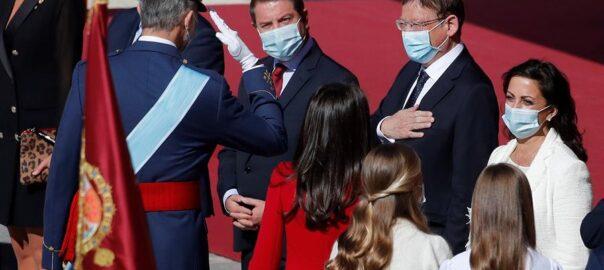 Ximo Puig saluda Felipe VI