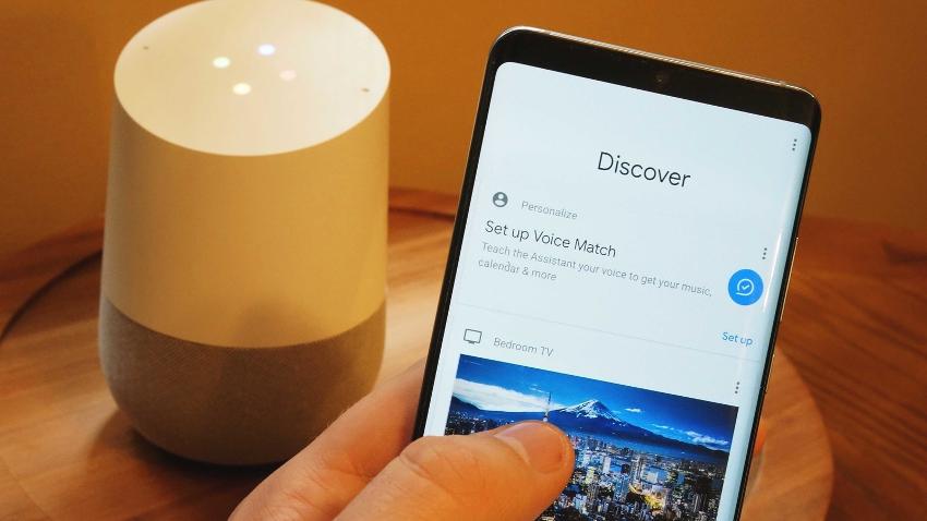 Google també té el seu propi assistent integrat en els seus productes.