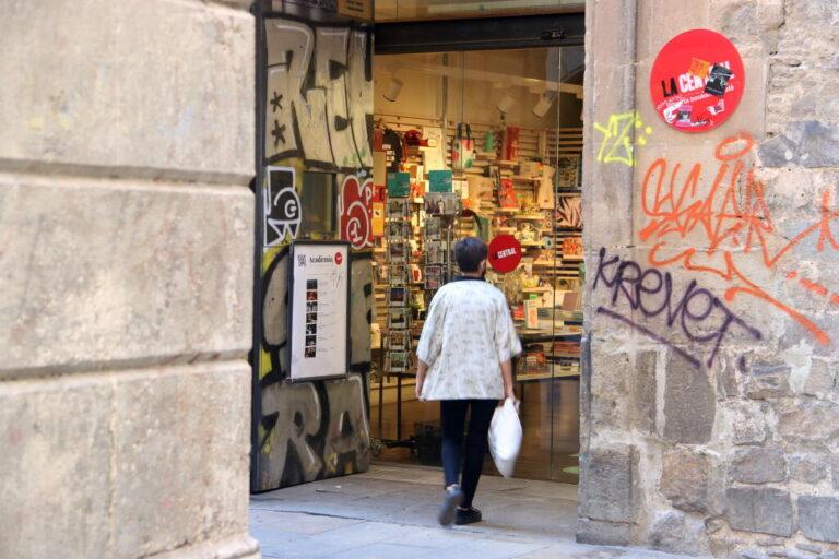 Imatge de la llibreria La Central del Raval