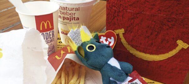 menú infantil fast food