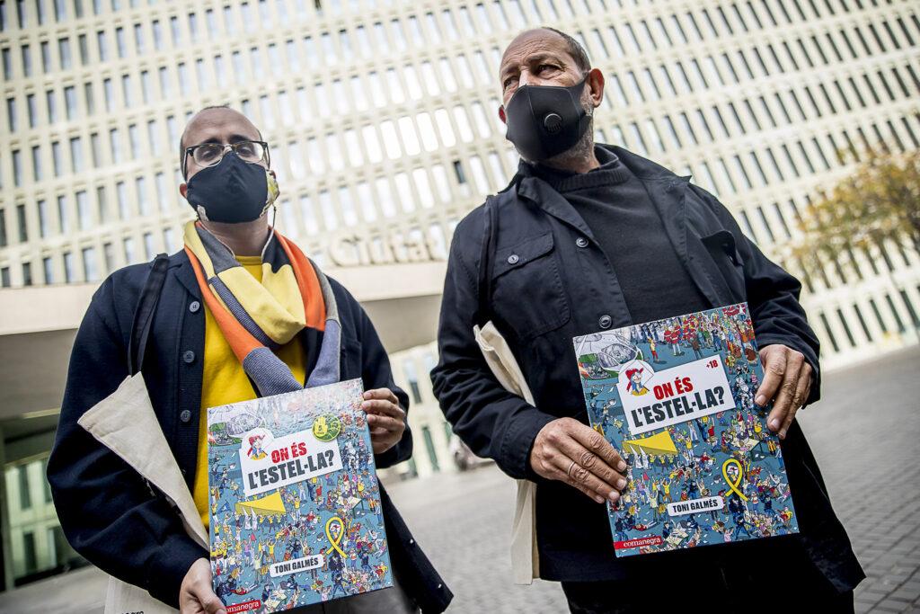 Jordi Puig i Joan Sala han portat el còmic a la Ciutat de la Justícia