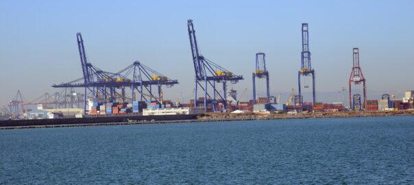 Grues del Port de València