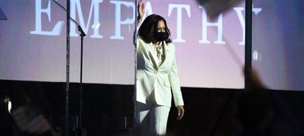 Kamala Harris trajectòria