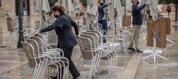 Noves mesures COVID-País Valencià-Tancament dels bars a les 17h