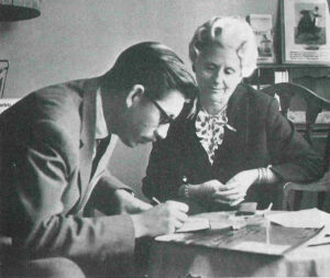 Entrevistant Mercè Rodoreda