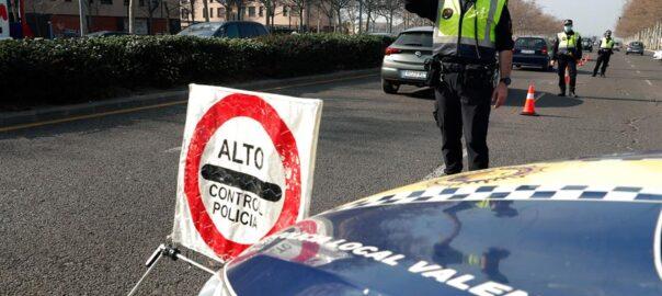 Control policial València