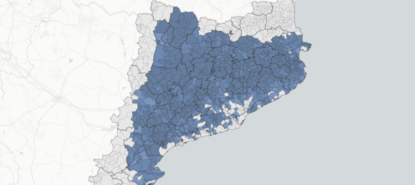 Mapa 50 % independentistes