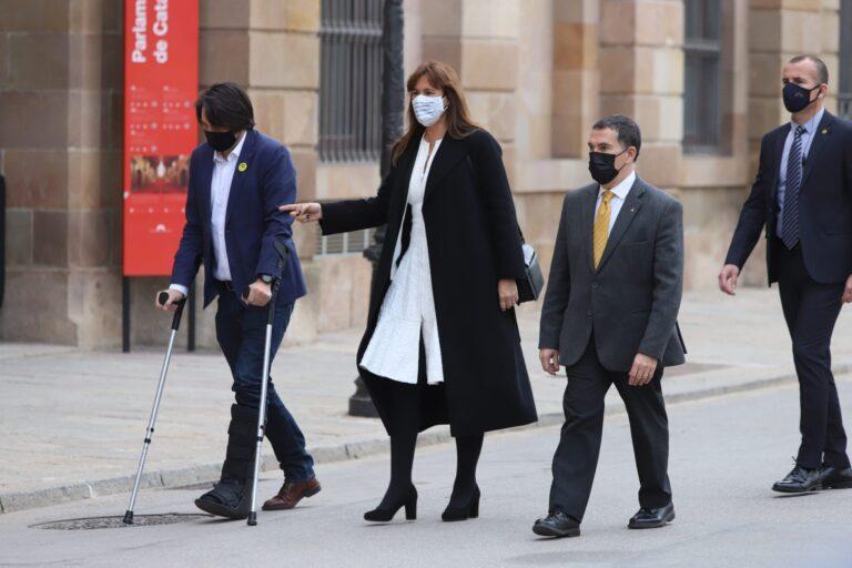 Laura Borras dalmases cuevillas parlament