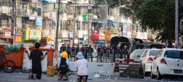 Birmània manifestacions