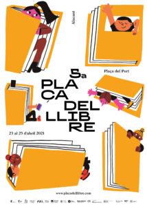 Cartell de la Plaça del Llibre