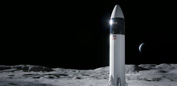 Space X Lluna