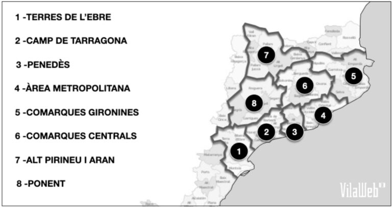 Vegueries Catalunya