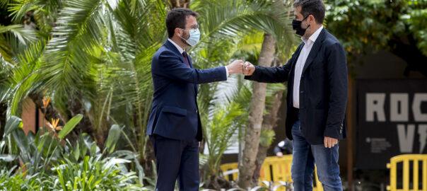 Acord entre ERC i Junts per Catalunya