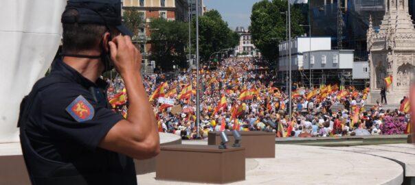 Madrid Plaça Colom indults