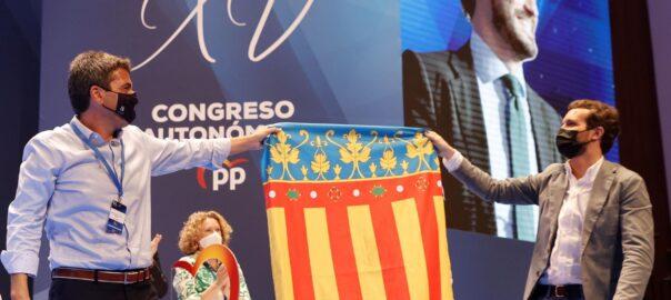 Elecció de Carlos Mazón com a president del PP al País Valencià