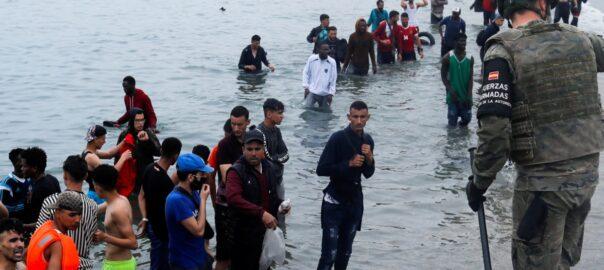 ceuta menors migrants