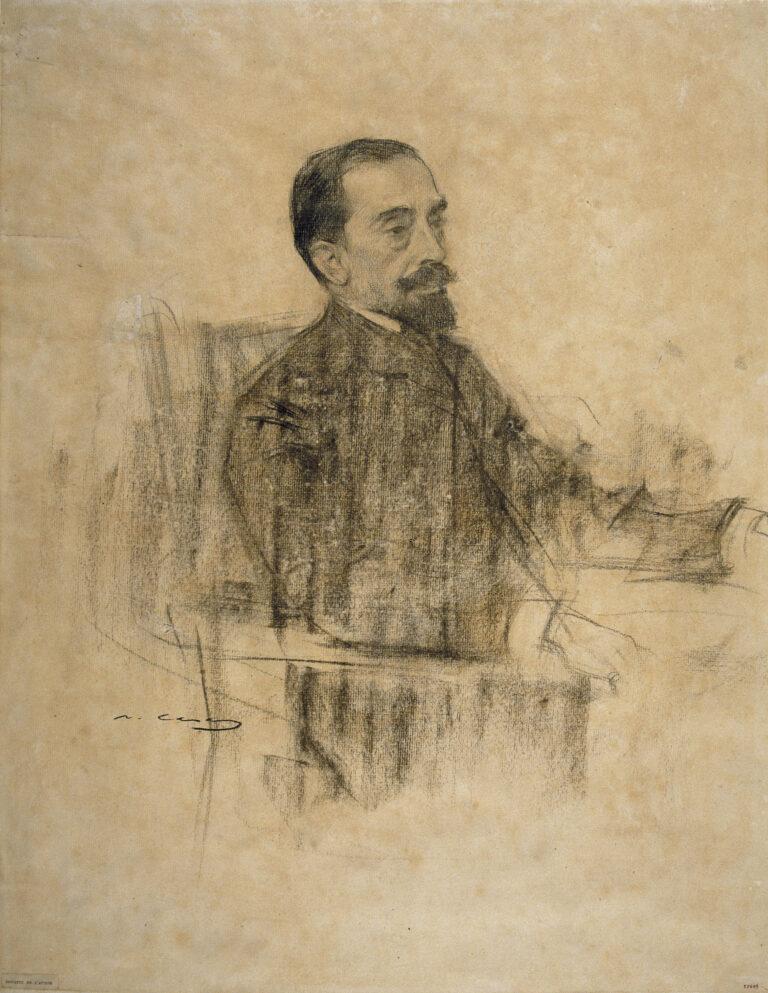 El poeta Joan Maragall, autor del Cant de la senyera