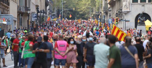 Manifestació Diada 2021
