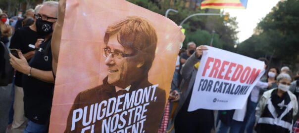 Concentracions llibertat Puigdemont